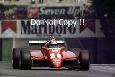 Mario Andretti Ferrari 126 C2 Italian Grand Prix 1982 Photograph 1