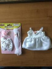 New * White Bride Outfit * that will Fit an 8-10 inch Teddy Bear or Doll # W