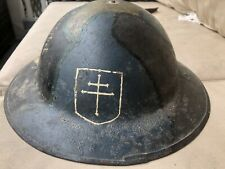 New ListingOriginal Ww1 Us Army Brodie Camo Doughboy Helmet w/ Liner