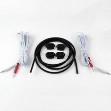 Conductive Silicone Rubber Tube TENS / ESTIM / E-STIM Machine 4mm OD 1.5mm ID