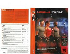 Les Mills Body Pump 75 Complete Dvd, Cd, Case and Notes