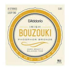 D'Addario EJ81 Irish Bouzouki Strings - Phosphor Bronze 8 String Loop End Set