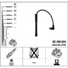 Cables bujia encendido NGK6794 - RCRN1204 - Ignition cable kit -  NISSAN-RENAULT