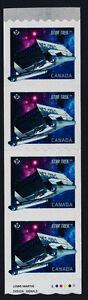 Canada 2985ii starter Strip MNH Star Trek