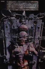 IRON MAIDEN - A3 Poster (ca. 42 x 28 cm) - Clippings Fan Sammlung NEU