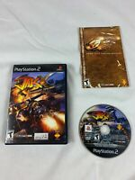 PS2 Jak X: Combat Racing (Sony PlayStation 2, 2006) Black Label Complete