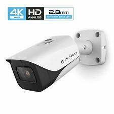 Amcrest ProHD 4K 8MP Bullet Outdoor Security Camera 2.8mm Lens 110° Wide Angle W