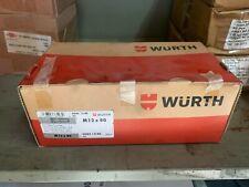 DIN 912 ISO 4762 Zylinderschrauben 8.8 M12 x 80 mm 50 Stk. WÜRTH Innensechskant