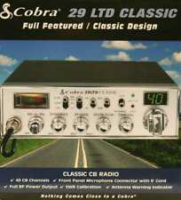 Cobra 29 Ltd Classic W/ Multiple Upgrades, Lab-Grade Tuning, Etc!