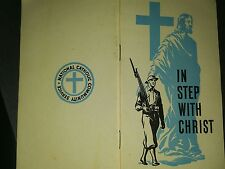 In Step With Christ A Soldiers Daily Prayer Book 1942  Rev Paul McConnell Klohr