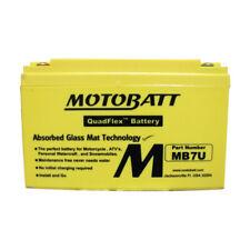 Motobatt MB7U - Premium AGM motorcycle, personal water-craft battery.