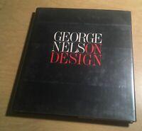 1979 GEORGE NELSON ON DESIGN Whitney Library near MINT 1st ed HC/DJ ~ rare