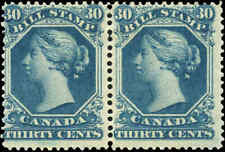 Canada Mint Pair F Scott #FB29 Second Bill Issue 30c Stamps Never Hinged