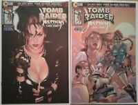 """Tomb Raider"" complete 1st print Dan Jurgens series w/ rare variants & 1-shots"