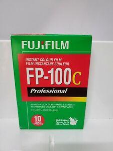 Fujifilm FP-100C 8.5x10.8 cm Professional Instant Color Film Unopened exp 2012