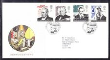 Great Britain 1995 - Communications First Day Cover 340c London to Clwyd