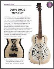 Dopyera Resonator DM33 Hawaiian + Godin Multiac Steel Duet guitar 6 x 8 article