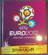 Euro 2012 / Poland-Ukraine / EM 2012 / Panini / Hard-Cover Album  / Neu
