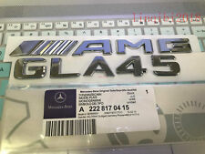"2018 "" GLA45 + AMG"" High quality Rear Trunk Emblem Decal Badge FOR Mercedes Benz"