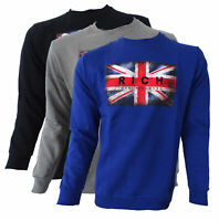 Felpa maglia Jhon Richmond sweatshirt RORY girocollo sweater long sleeves manich