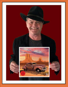 """MICKY DOLENZ SIGNED NEW VINYL ALBUM """"Dolenz Sings Nesmith"""" AUTOGRAPHED * MONKEES"""