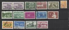Finlande Suomi années 60 15 timbres oblitérés /T2290