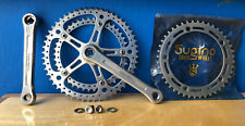 VINTAGE SUGINO SUPER MIGHTY 170mm 144 BCD  53/42 Tooth CRANK Lot W/ 44 Chainring