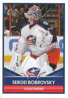 16/17 PANINI NHL STICKER #57 SERGEI BOBROVSKY BLUE JACKETS *24731