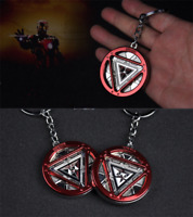 Marvel Iron Man Arc Reactor Pewter The Avengers KeyRing Keychain Metal Made Gift