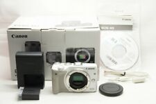 Canon EOS M3 24.2MP Mirrorless Digital Camera White Body Only with Box #210121h