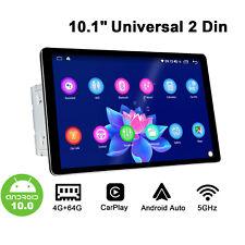 Android 10 Autoradio Universale Lettore Multimediale da 10,1 Pollici 64GB +4GB