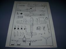 VINTAGE..HAWKER TYPHOON 1B.....5-VIEWS/DETAILS/CROSS SECTIONS...RARE! (982F)