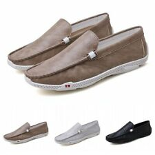 Mens Casual Driving Loafers Faux Leather Lazy Moccasins Slip On Shoes Gomminos D