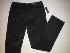 NWT NEW womens size 8 X 31 navy blue BOGARI corduroy pants straight leg $69
