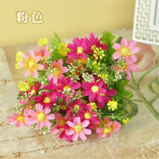 Artificial Fake Silk Daisy Flower Bunch Bouquet Home Wedding Party Decoration