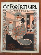 MY FOX TROT GIRL sheet music BIESE Henri Klickmann RARE