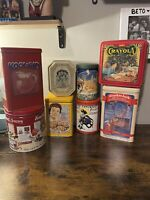 Vintage Lot of Mixed Advertising Tins - 12 Items
