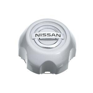 2003-2004 Nissan Xterra Silver Wheel Center Hub Cap With Chrome Emblem OEM NEW
