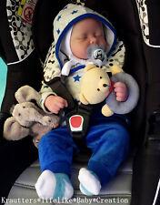 ♥*Babyboy* Reborn Reallife Baby BS v. U.L Krautter Babypuppe Künstlerpuppe♥