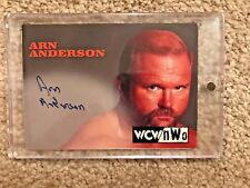 Topps WCW NWO Arn Anderson On Card Auto Autograph 1998 1999 WWE WWF