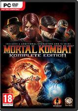 Mortal Kombat Komplete Edition (PC, 2013) *NEW & SEALED*