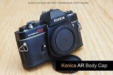 Konica AR Camera body cap FIT Autoreflex A A3 T T2 T3 T3N A1000 FTA T4 TC ACOM