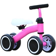 Kool KiDz Mini Bike Toddler Trike - Learn Motor Skills and Balance 19in. (Pink)