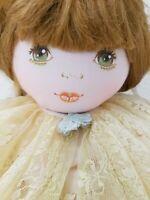 """RARE Vintage Creation Exclusive Mundia PARIS Fabric Doll W/Cloth 60cm 24"""""""