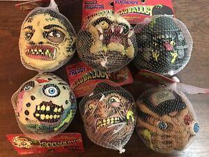 HORROR MADBALLS FULL SERIES 1 SET Freddy Krueger Alien Predatr Jason Leatherface