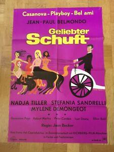 Geliebter Schuft (Kinoplakat '74) - Jean-Paul Belmondo / Nadja Tiller