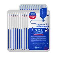[MediHeal Clinic] N.M.F Aquaring Ampoule Mask Pack Sheets 10Pcs