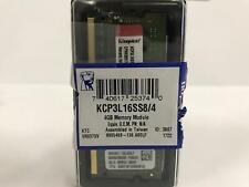 Kingston 4GB (1 x 4GB) PC3-12800 1600MHz DDR3L 1.35v CL11 Memory KCP3L16SS8/4