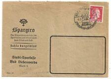 COVER BAD LIEBENWERDA ALLEMAGNE DEUTSCHLAND. DEUTSCHES REICH. 1942.  L846