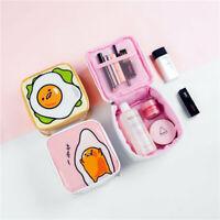 gudetama egg PU travel handbag storage makeup bag cosmetic bag handbags anime